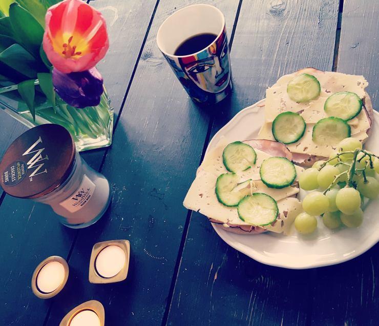 Min frukost.